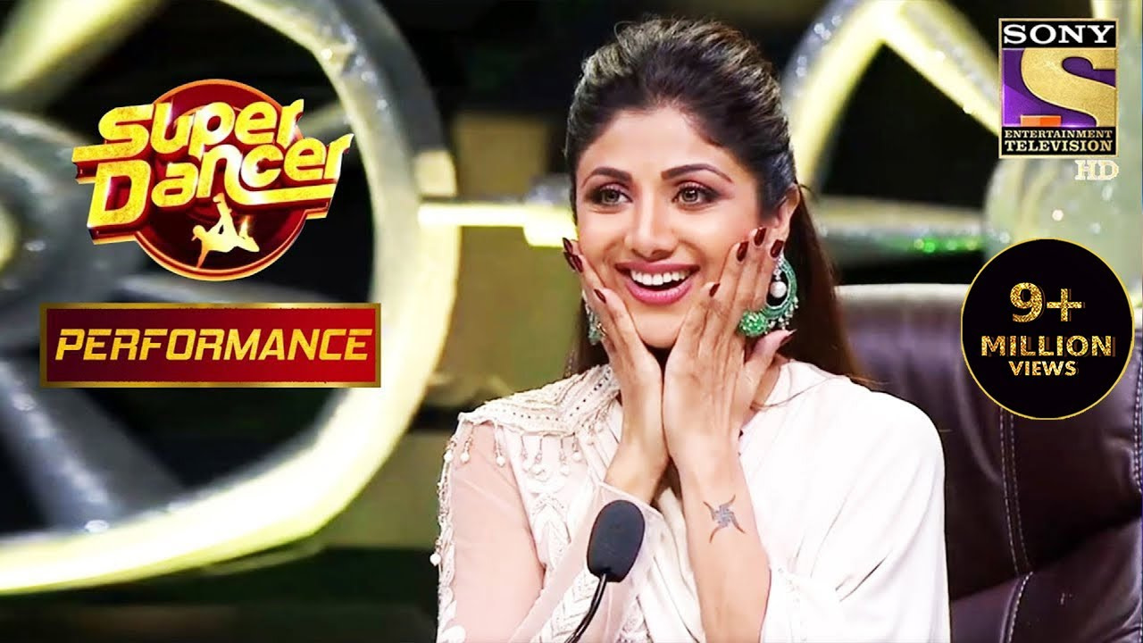 """Shilpa Amazed With Akshit's Charlie Chaplin Act On """"Zingaat"""" 
