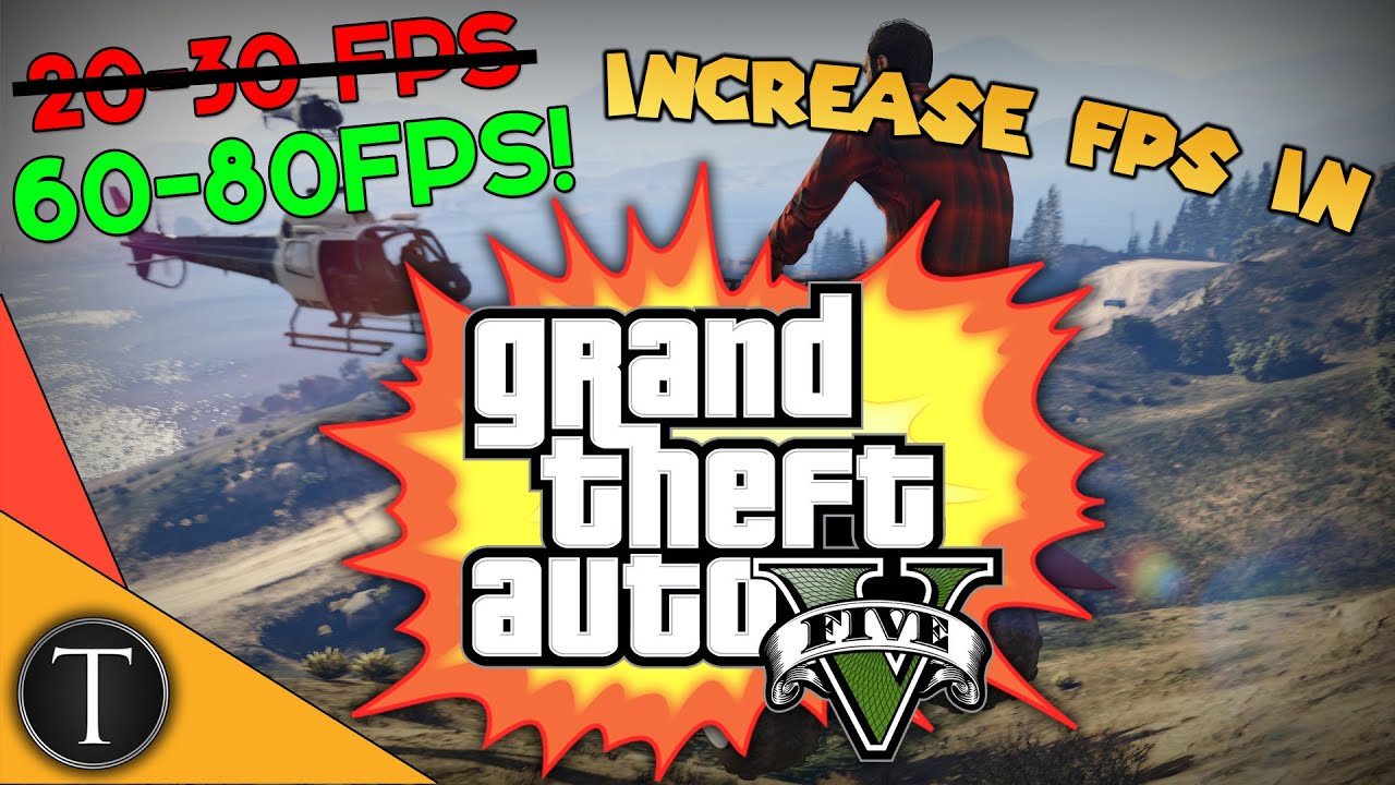 How To Increase FPS In GTA 5 - FPS & Disappearing Textures Fix - Major Lag Fix!! - 60-70 FPS!!