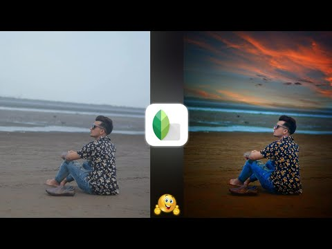 Snapseed Sky Background Change Manipulation Editing | Snapseed Photo Editing Tutorial | Snapseed