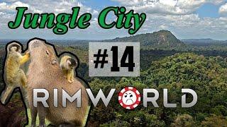 Sleepy Siege [14] Jungle City Rimworld High Pop Challenge
