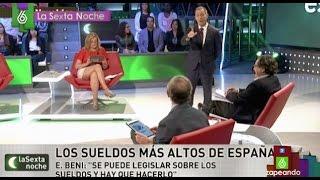 El momento de tensión entre Eduardo Inda e Hilario Pino en laSexta Noche