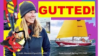 Susie Goodall After Sailboat Dismasting Would Do Golden Globe Race Again