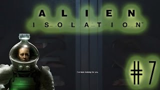 Trapped in the closet! | Alien Isolation part 7-  #2SpookyMonth