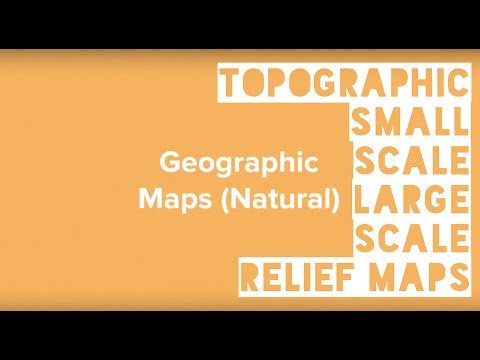 Topographic, Small-Scale, Large Scale, Relief Maps - Geo Glossary