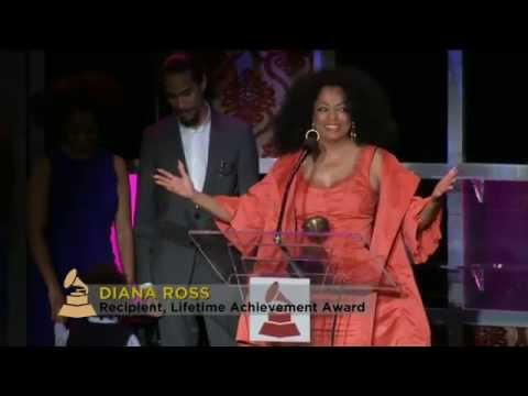 Diana Ross - Receiving The Lifetime Achievement Award - 54th Annual The Grammy