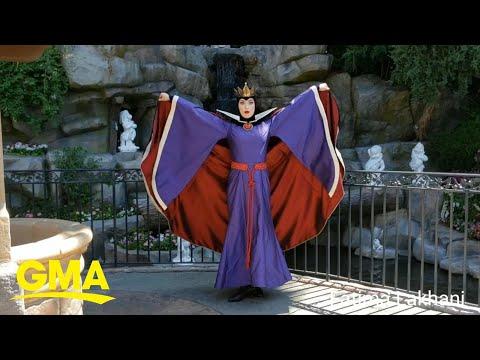 Disneyland Evil Queen slays it