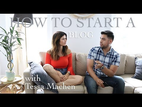 How to start a blog | Day in the life of a blogger | Tessa Machen | Rodarte's Corner