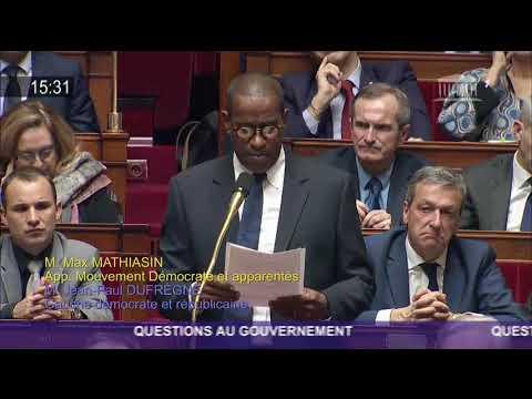 Esclavage en Libye : Max Mathiasin à l'Assemblée nationale