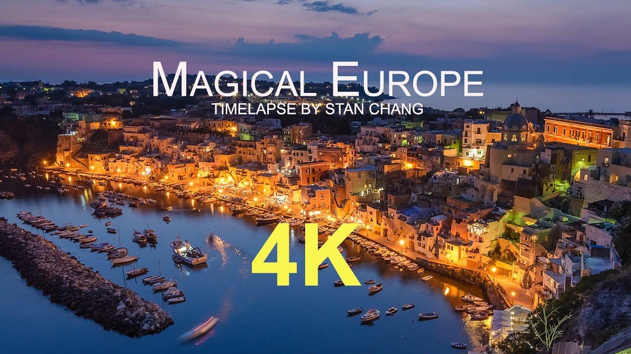 Magical Europe - 4K Timelapse 歐洲30國縮時攝影