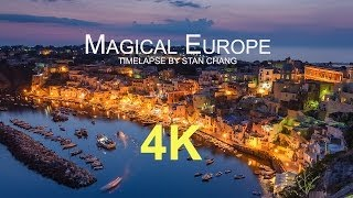 Magical Europe - 4K Timelapse 歐洲30國縮時攝影