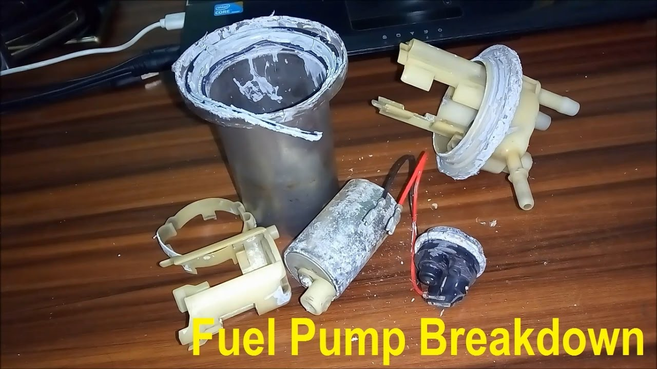 Karizma Zmr Fuel Pump Full Breakdown And Repair At Home Without