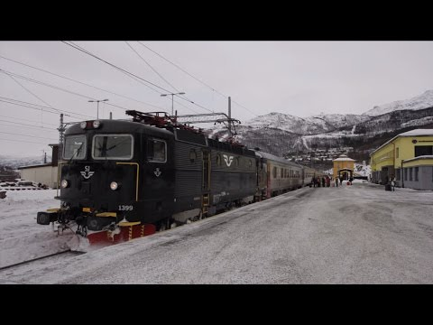 北極圏を走る夜行列車の旅 The scenery seen from the Arctic Circle Train