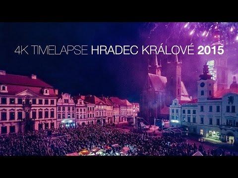 4K timelapse Hradec Králové 2015