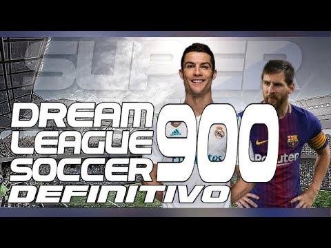 espectacular super mod dream league soccer 900 definitivo + super data real madrid al 100% sin root