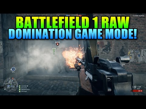 Battlefield 1 Domination Game Mode RAW 1440P | 45 Minutes Of Gameplay