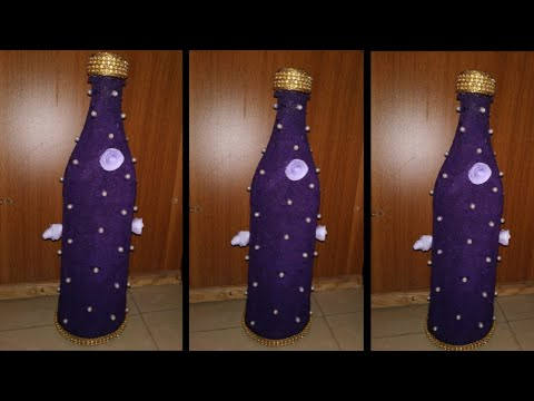 bottle-art-|-art-from-waste-|-art-with-sand-|-diy-|art-and-craft-|-freesia-creative-minds