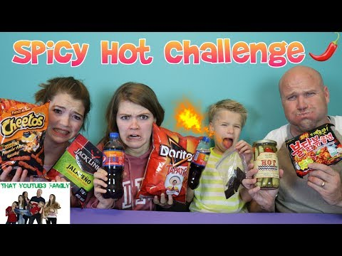 Thumbnail: SPICY HOT CHALLENGE / That YouTub3 Family