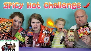 challengen hot foods spicy