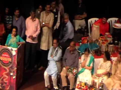 Asha Bhosale speech on 80th Hridaynath Mangeshkar birthday at shanmukhanand