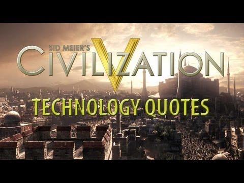 Civilization V  Vanilla Technology Quotes