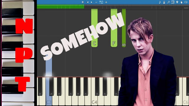 Piano piano chords instrumental : Tom Odell - Somehow - Piano Tutorial - Instrumental - YouTube