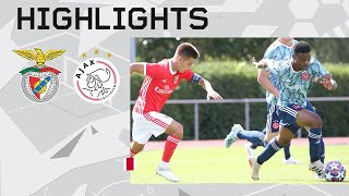 Highlights | Benfica O19 - Ajax O19 | UEFA Youth League