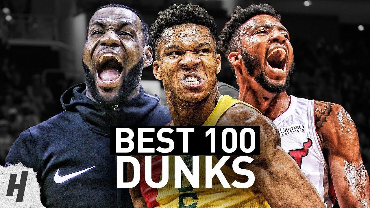 BEST 100 Dunks & Posterizes of the 2019 NBA Regular Season image