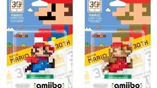 Amiibo - 30th  Anniversary Modern Colours Mario [ENG Sub]