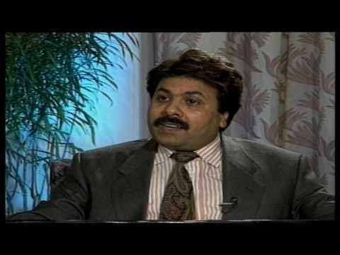 Rubaru: old interview Manohar Joshi with Rajeev Shukla