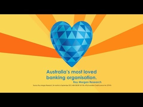 See why we're Australia's Most Loved Banking Organisation