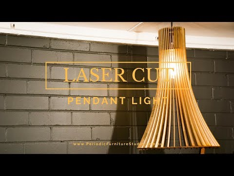 Laser Cutting A Pendant Light - DIY Pendant