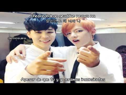 BTS (V & Jimin) - 95 Graduation! (Sub Español + Hangul + Romanizacion)