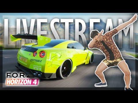 FORZA HORIZON 4 LIVE STREAM (Full Game)