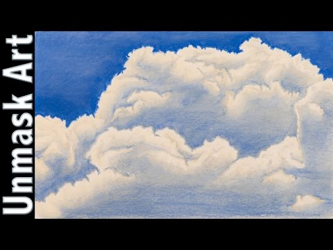 clouds-|-colored-pencil-drawing-time-lapse