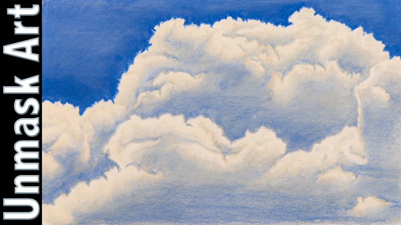 Drawing Clouds With Pencil