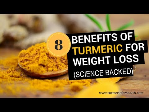 8 Awesome Benefits of Turmeric for Weight Loss (Science Backed)