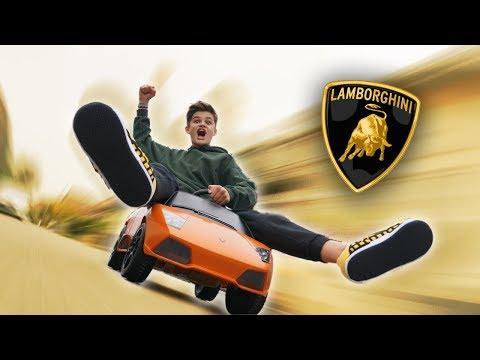 Erste Fahrt in meinem Auto! 🏎 *Lamborghini Murcielago* | Oskar