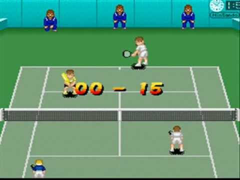 SNESOT Super Tennis Online Tour - Nev vs Gabriel West - FINAL AO Doubles 2013 Part1