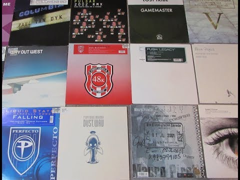 My Trance CD & Vinyl Collection!