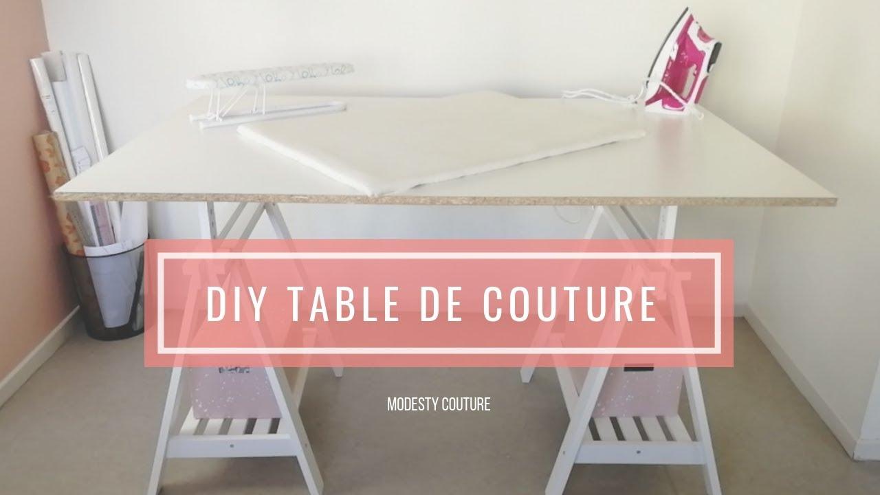 Diy Une Table De Coupe Couture Pas Chère Et Simple à Réaliser
