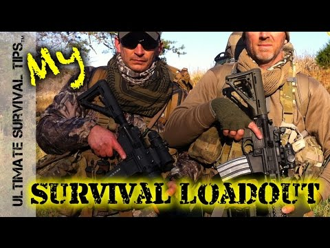25 lb Tactical / Survival Loadout + 72 Hour Bug Out Survival Kit – Best Budget Tactical Chest Rig?
