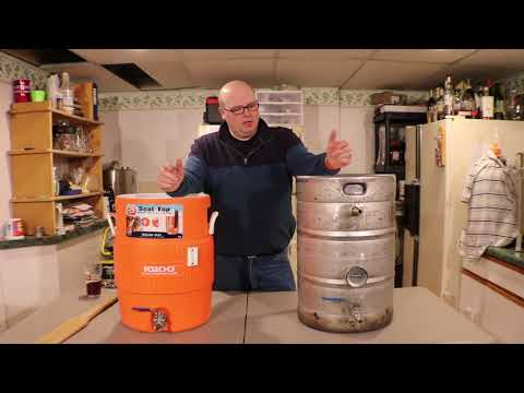 Homebrewing Beer Equipment - Comparing Cooler Mash Tun to Stainless Mash Tun