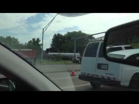 Near Fatal accident SR 129 Hamilton Ohio