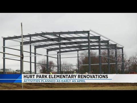 Renovations at Hurt Park Elementary School