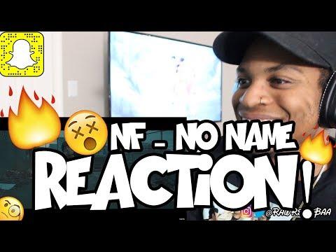 NF - NO NAME REACTION!! 🔥😱