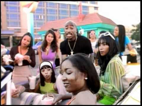 Výsledek obrázku pro tupac to live in die in la video