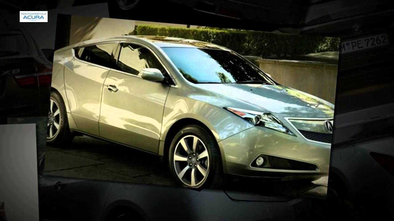 2014 Acura ZDX Compared To The 2013 BMX X6 - YouTube on
