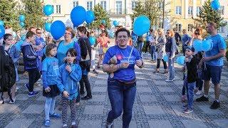 Niebieski marsz w Ostrołęce