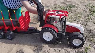 Bruder traktory & lego,kradzież traktora