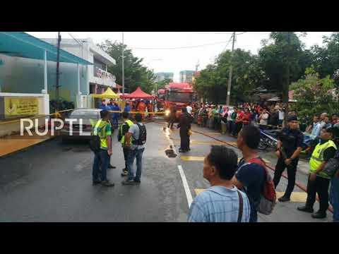 Malaysia: At least 25 killed as fire rips through school in Kuala Lumpur *STILLS*